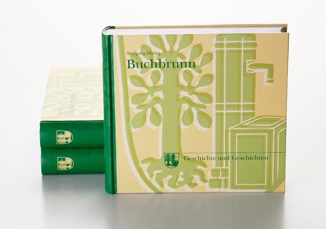 Chronik Gemeinde Buchbrunn Hardcover Umschlag