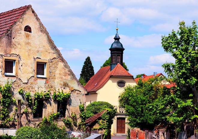 Fotografie Kath. Kirche Mariä Himmelfahrt in Buchbrunn