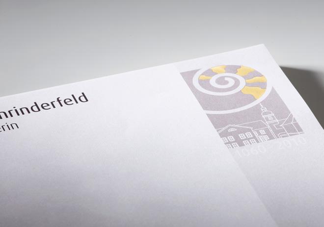 Geschäftsausstattung Briefpapier für besondere Anlässe