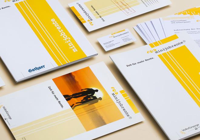 Corporate Design Broschüren, Info-Mappen, Formulare, Visitenkarten und Infoflyer