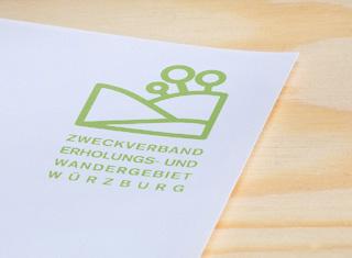 Geschäftsausstattung Zweckverband Erholungs- und Wandergebiet Würzburg