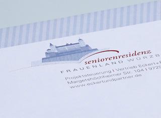 Corporate Design Seniorenresidenz Würzbug