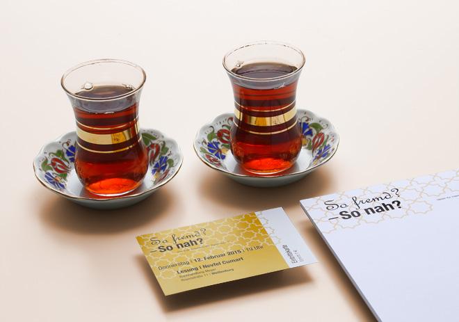 Geschäftsausstattung Visitenkarte und Block